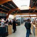 L'intérieur du salon de Saint-Malo Craft Beer Expo