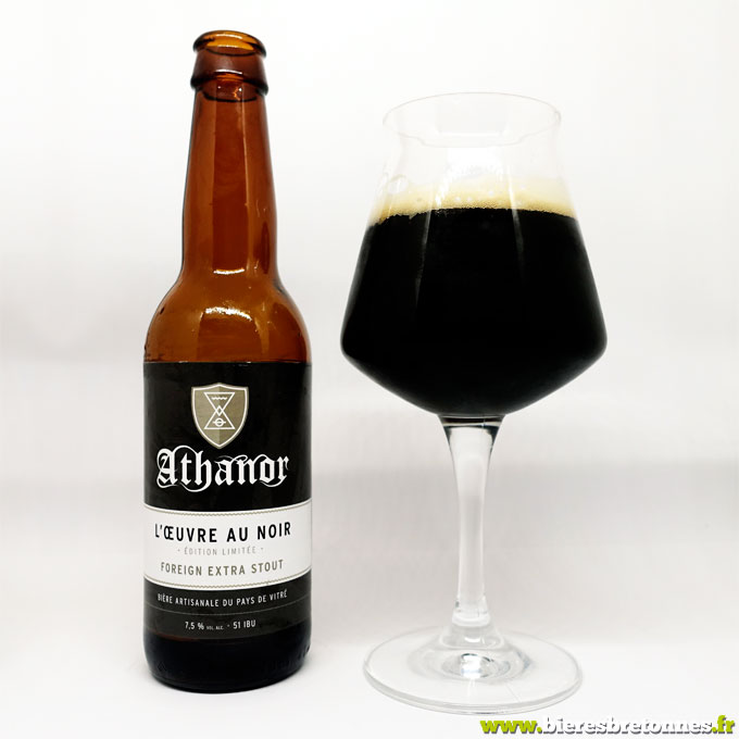 L'Oeuvre Au Noir Foreign Extra Stout – Brasserie Athanor