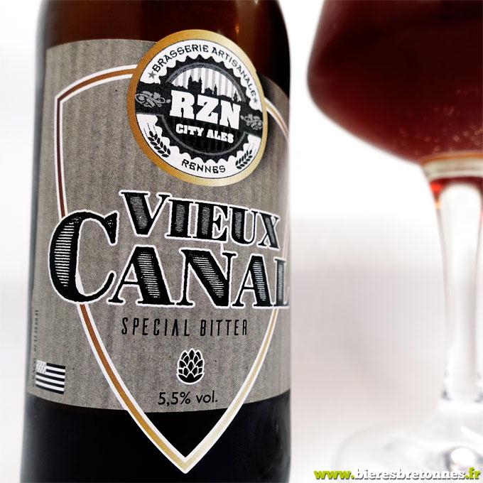 Etiquette Vieux Canal Special Bitter – Brasserie RZN City Ales