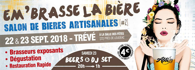 Salon Embrasse La Biere 2018