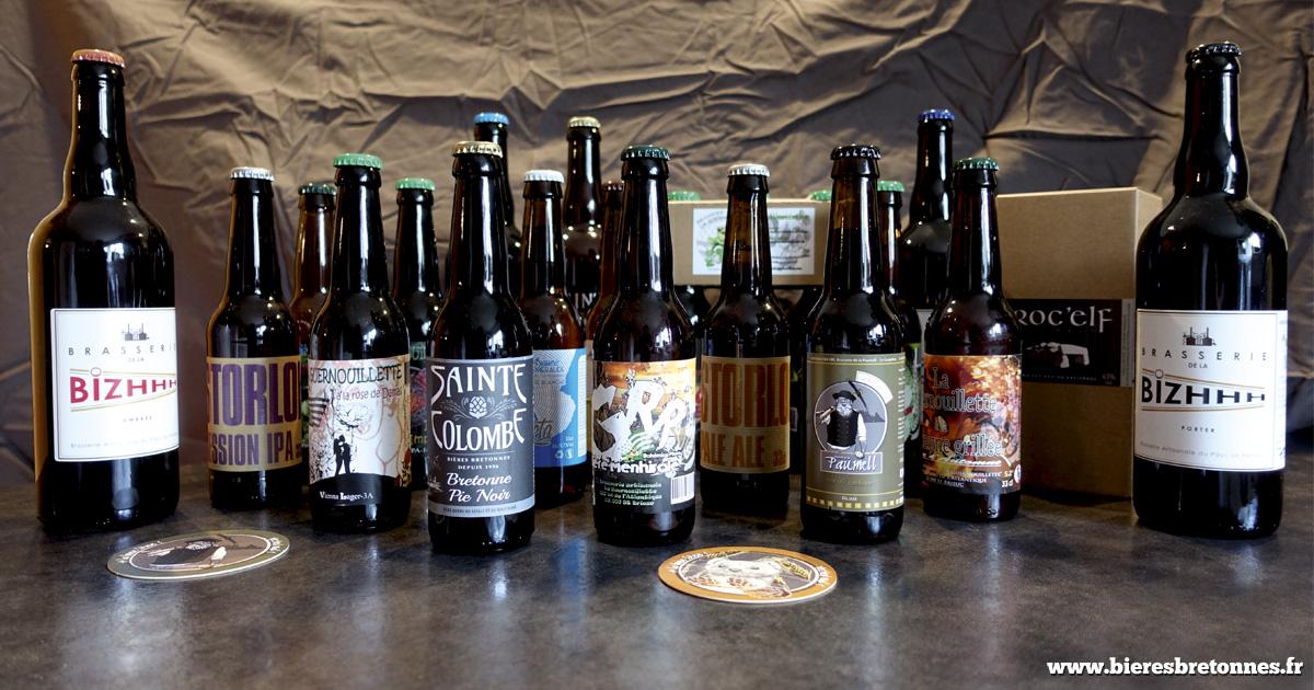 Nos échantillons de bières récupérés lors du salon !