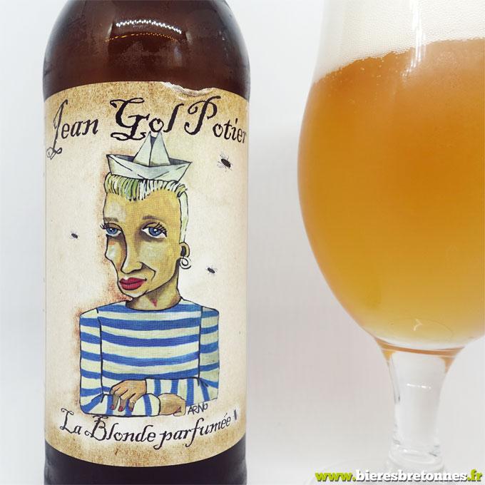 Etiquette Jean Gol Potier – Brasserie de l'Imprimerie