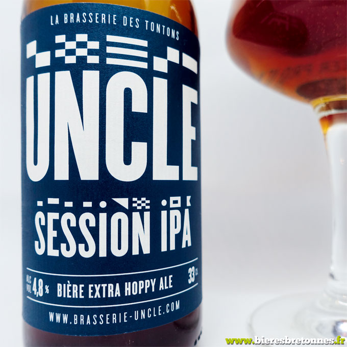 Étiquette Uncle Session Ipa – Brasserie Uncle
