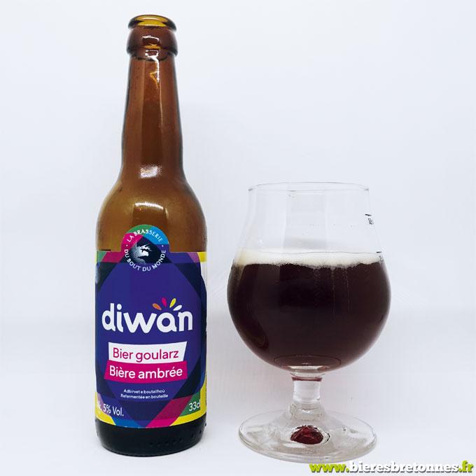 Térénez Diwan Bière Ambrée – Brasserie du Bout du Monde