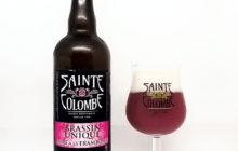Sainte Colombe Brassin Unique Bière à la Framboise - Brasserie Sainte Colombe