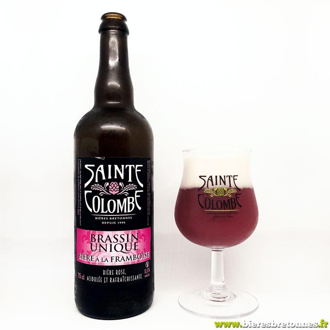 Sainte Colombe Brassin Unique Bière à la Framboise – Brasserie Sainte Colombe