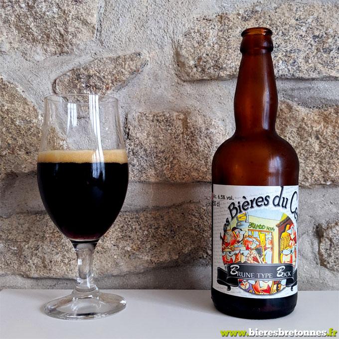 Brune type Bock – Brasserie Les bières du cercle