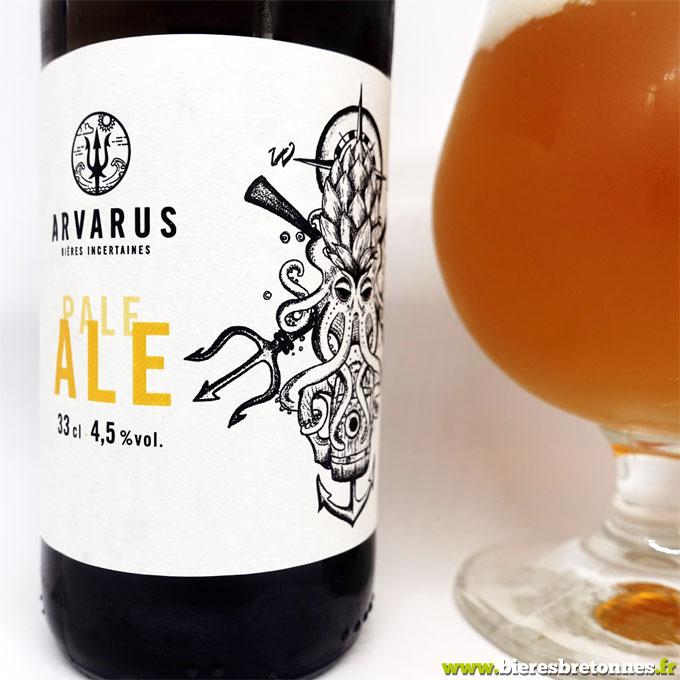 Étiquette Arvarus Pale Ale – Brasserie Arvarus