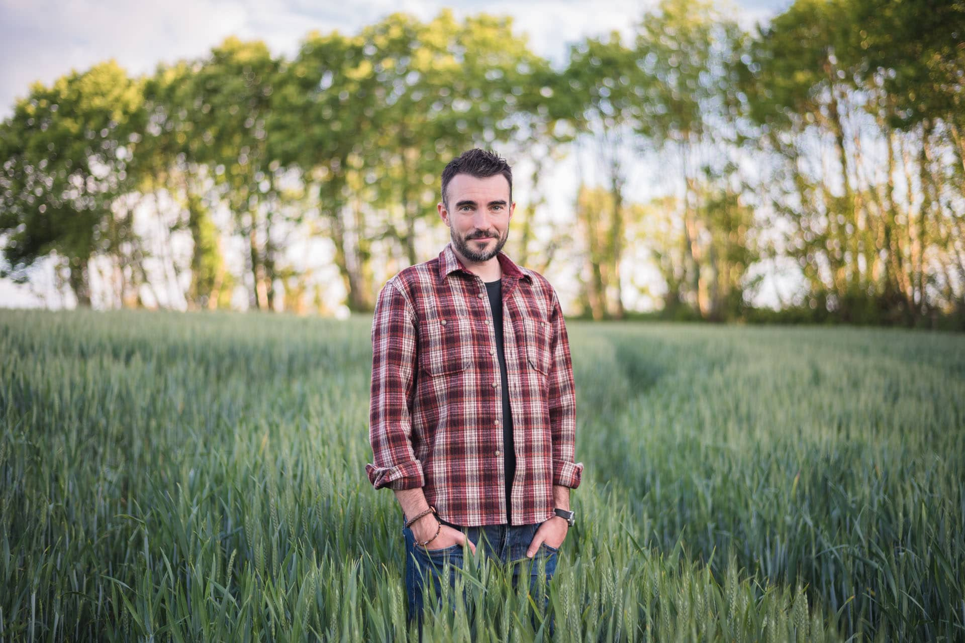 Steven Pennec, créateur de Mangeons-Local.bzh