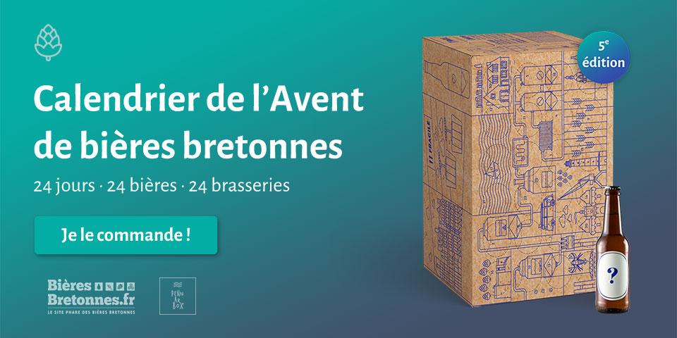 calendrier de l'Avent de bières bretonnes