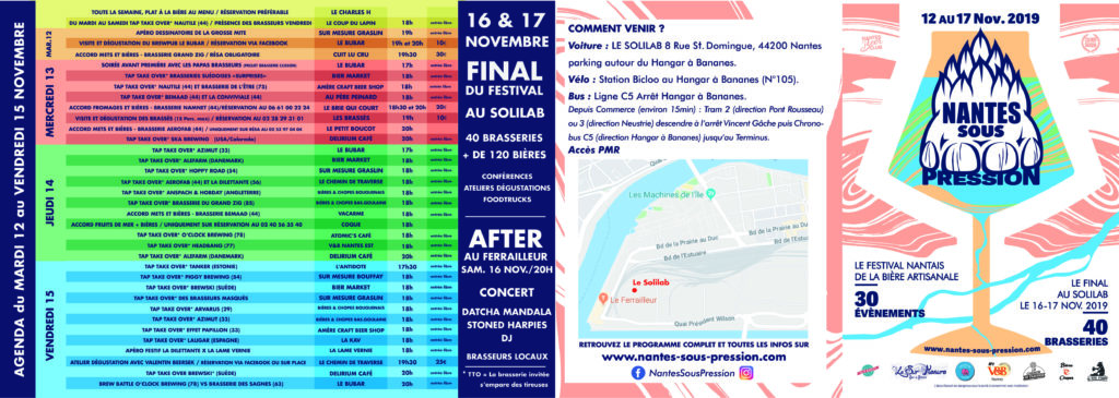 Programme Semaine Nantes Sous Pression