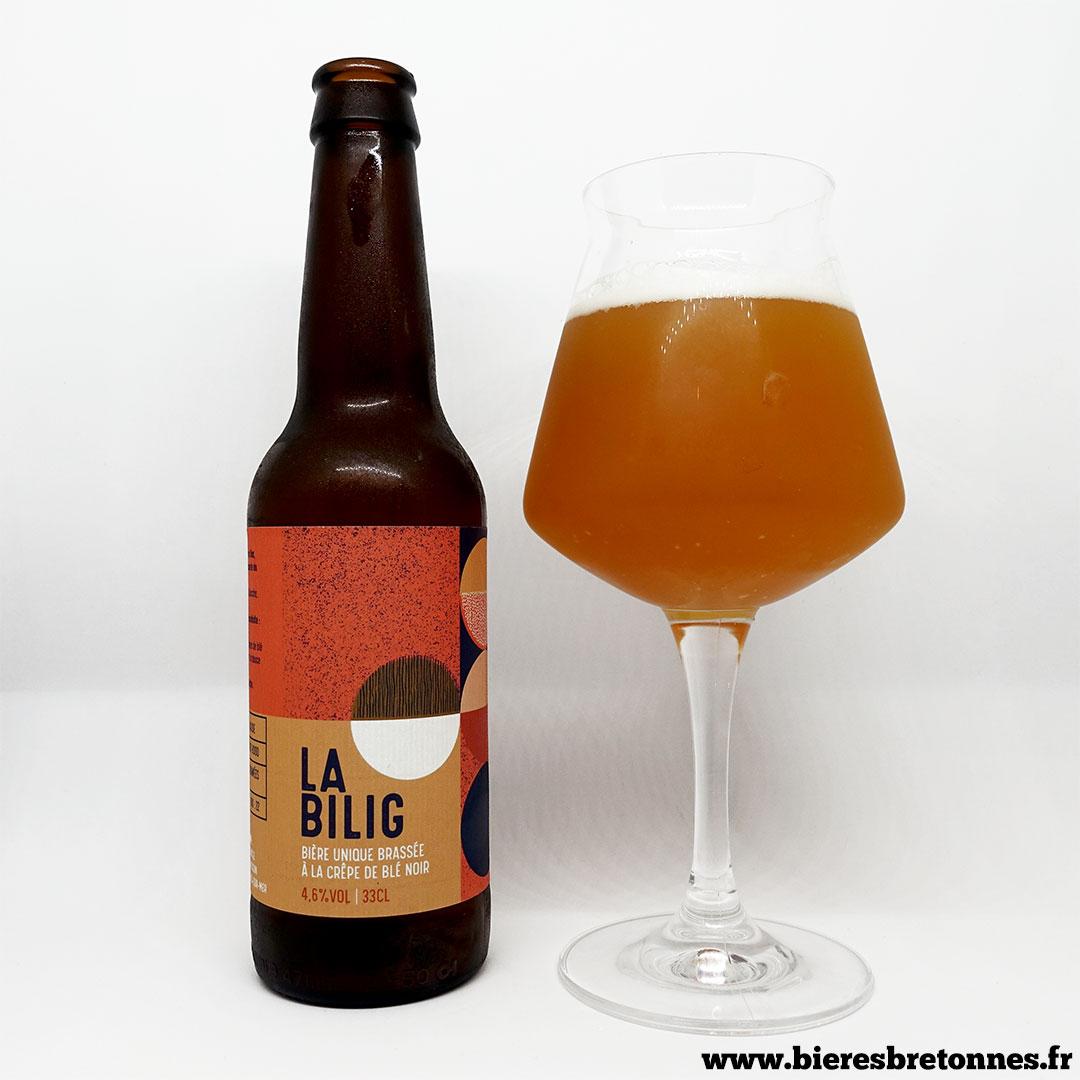 La Bilig – Brasserie Uncle (Collaboration avec Penn ar Box, BièresBretonnes.fr, Baril et Vieux Singe)
