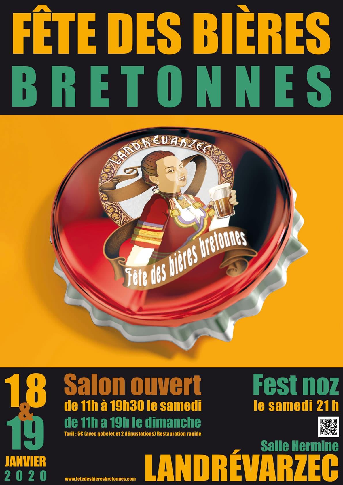 Affiche Fetes Bieres Bretonnes Landrevarzec 4