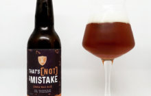That's [Not] A Mistake IPA - Brasserie Athanor