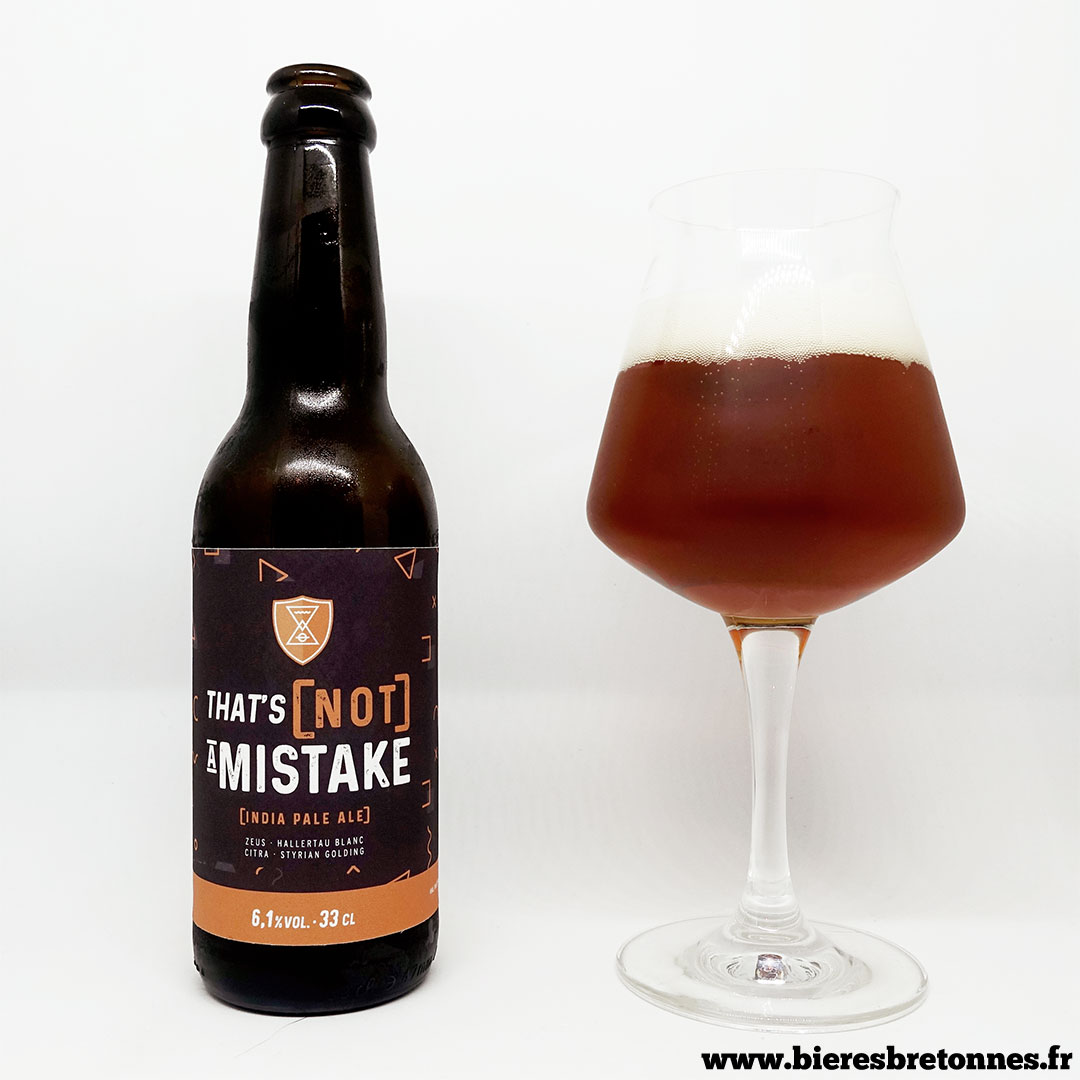 That's [Not] A Mistake IPA – Brasserie Athanor
