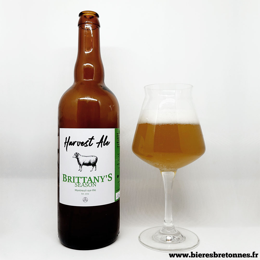 Brittany's Season Harvest Ale – Brasserie Brittany's