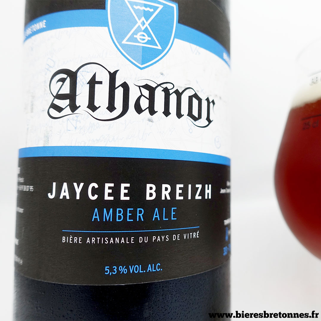 Étiquette Jaycee Breizh – Brasserie Athanor