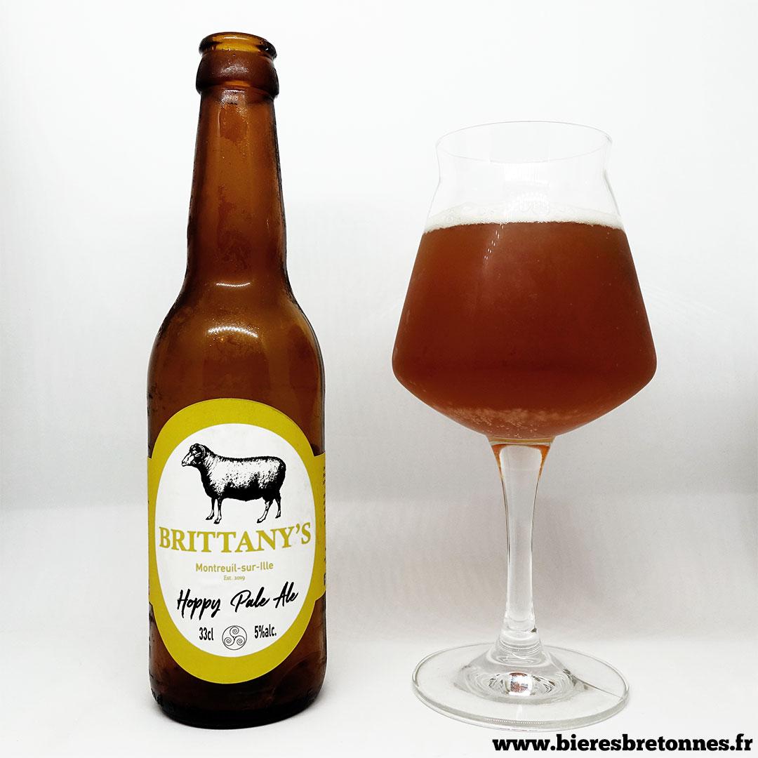 Hoppy Pale Ale – Brasserie Brittany's