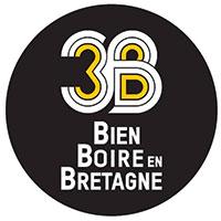 Logo Les 3b (Bien Boire en Bretagne) Vitré