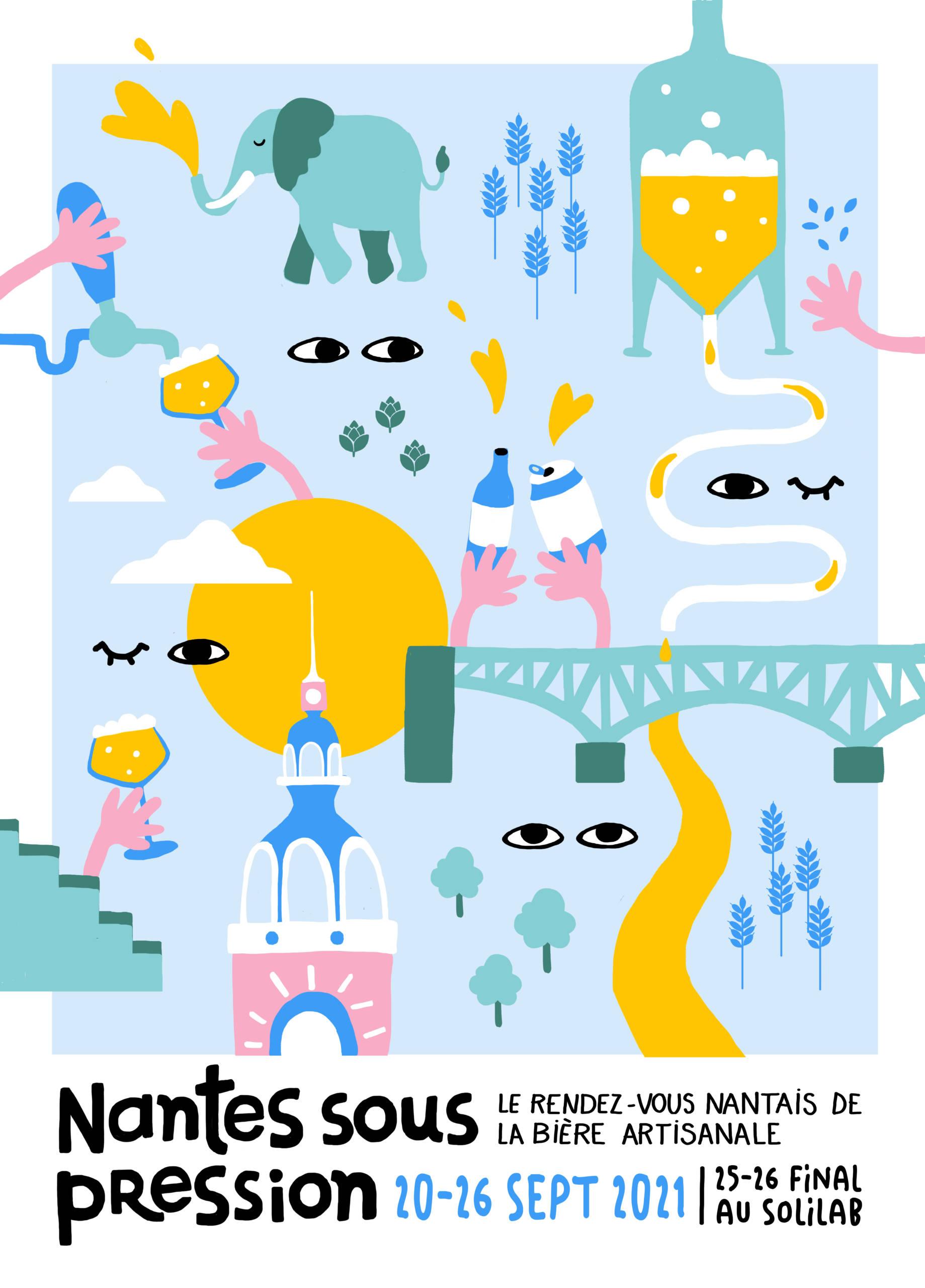 Affiche Nantes Sous Pression 2021